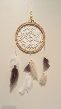 Dreamcatcher, crochet, diy, mandala