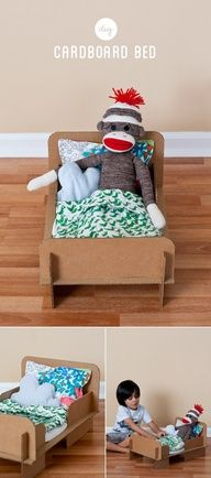 "DIY Cardboard Bed"" data-componentType=""MODAL_PIN"