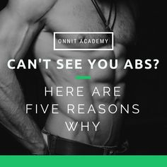 5 Reasons Why You Can't See Your Abs + Diet Plan is part of fitness - Here are 5 reasons why you can't see your abs, and here's a complete 6 week workout and diet plan to get you shredded for summer Reto Fitness, Fitness Abs, Fitness Women, Workout Fitness, 6 Week Workout, Fitness Motivation, Ab Diet, Thing 1, Fitness Nutrition