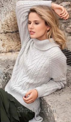 64 Ideas Knitting Projects For Women Stitches For 2019 Beginner Knitting Patterns, Sweater Knitting Patterns, Knitting Projects, Grey Knit Cardigan, Grey Sweater, Jumper, Baby Summer Dresses, How To Purl Knit, Cardigans For Women