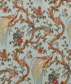 Shop Waverly Olana/OXF Bay Leaf Fabric at onlinefabricstore.net for $16.85/ Yard. Best Price & Service.