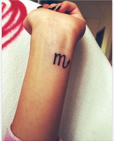 Scorpio Zodiac Sign Tattoo Ideas