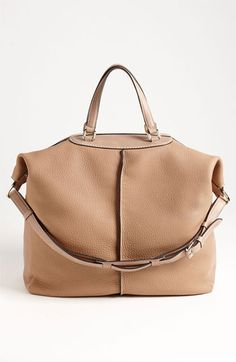 Tod's 'Classic Milky - Large' Leather Tote available at #Nordstrom