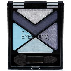 Maybelline New York Eye Studio Color Explosion Shadow - Blue Blowout ($8.99) ❤ liked on Polyvore