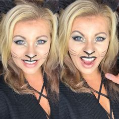 Halloween Makeup Look:  All Younique Kitty Cat  Meow
