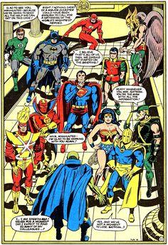 SUPER POWERS (1984) - Jack Kirby & Greg Theakston.