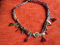 my hoby,türk işi iğne oysı ve yemeni ile  yapılmış kolye.