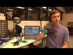 SignAloud: Gloves that Translate Sign Language into Text and Speech - YouTube
