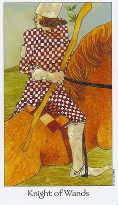 Knight of Wands - Dreaming Way Tarot