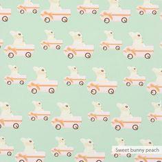 Sweet bunny behang | Producten | Studio ditte
