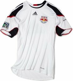 MLS New York Red Bulls Pregame Jersey (White, Dark Navy, Toro, L) adidas. $25.00