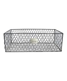 Loving this Wire Storage Tray on #zulily! #zulilyfinds