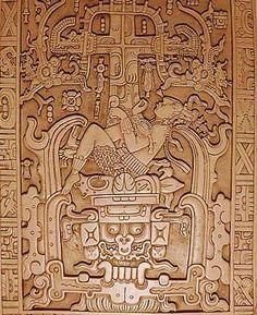 Mayan Ancient carving