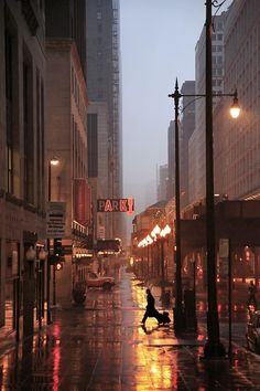 [Rainy Night, New York City  photo via erin]  ...  capturing the gritty, moody vibe