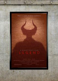 Legend 11x17 Movie Poster by adamrabalais on Etsy, $20.00