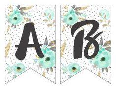 ideas for birthday banner letters free printable alphabet templates Alphabet A, Free Printable Alphabet Letters, Printable Letter Templates, Diy Letters, Alphabet Templates, Happy Birthday Banner Printable, Birthday Banner Template, Birthday Banners, Ramadan