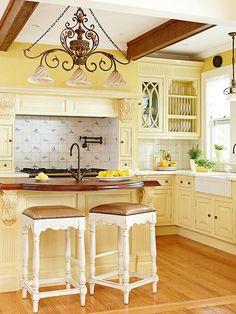 Yellow Kitchen :)