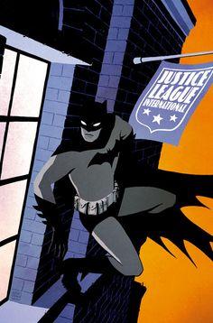 Comic bOok Cover Art Justice League International 10 Cover Artist: Cliff C - Batman Poster - Trending Batman Poster. Comic Book Artists, Comic Artist, Comic Books Art, Batman Painting, Batman Artwork, Batman Poster, Gotham, Batman The Dark Knight, Batman Family