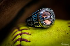 Softball Softball Softball - Photo idea @Kristen Adkins we should do this with your National Championship ring!