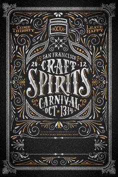 Craft Spirits Poster