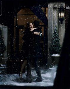 ja volim sneg, zato sto svetluca...