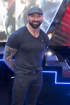 Dave Bautista. (David Michael Bautista Jr., 18-1-1969, Washington DC.