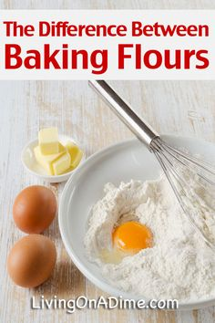 The Difference Between All Purpose Flours Self Rising Flours And Bleached And Unbleached Baking Flours