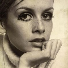 Twiggy Early | ... , there is one iconic beauty I turn to for inspiration: Twiggy