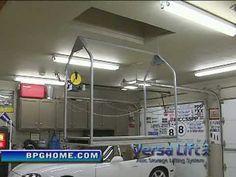 Home Made Garage Attic Lift Hoist Elevator Dumb Waiter