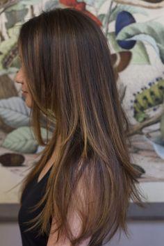 Asian Balayage Pe Pinterest Balayage Asian Hair More