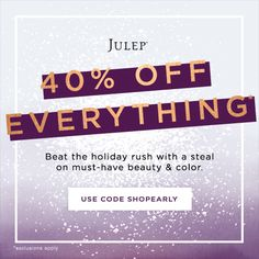 Julep Sale - 40% Off Everything! - http://mommysplurge.com/2014/11/julep-sale-40-off-everything/