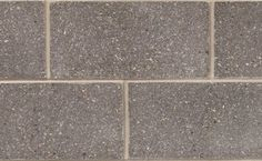 Profile Series Block in Eclipse Suave by Brampton Brick. The compressive strength of Profile Series concrete block units is suitable for use in a masonry-bearing or single wall. This product is also manufactured with a water repellent additive and is permeable to water vapor. Smooth Face, Concrete Blocks, Tile Floor, Brick, Profile, The Unit, Water, User Profile