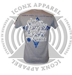 iconx-barbell-chalk-junkies-t-shirt-ice-grey-blue_zps251d0d23.jpg Photo:  This Photo was uploaded by iconx-sports. Find other iconx-barbell-chalk-junkies...