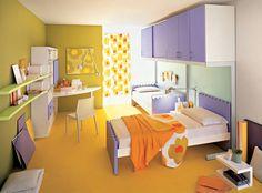 split complementary color scheme kids rooms | split complimentary scheme is a three color scheme that is