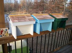 Top Bar Nuc Bee Hive W/8 Top Bars W/observation Window Nucleus Beehive
