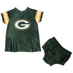 Green Bay Packers Girls Infant Spirit Dress - Green f9d289816