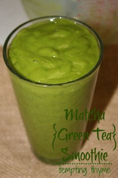 Matcha {Green Tea} Smoothie