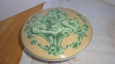 NINA CAMPBELL CHELSEA  COVERED BOWL OR BOX ROSENTHAL CLASSIC  PORCELAIN