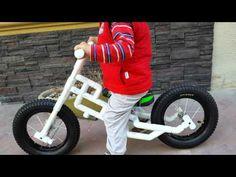 Pvc bike - YouTube