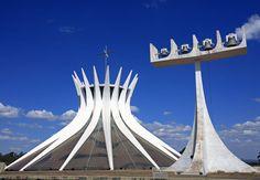 Catedral de Brasília, projeto de Oscar Niemeyer