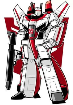 Jetfire. Robotech rip-off, but so good.