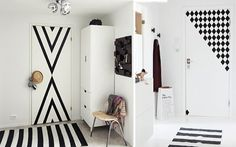 Cómo decorar puertas con vinilos - DECOFILIA.com