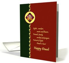 Diwali Greetings - Lord Ganesha card