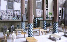 styling/interior restaurant Barlucca  studio AHvdK  http://allehoekenvandekamer.wordpress.com/