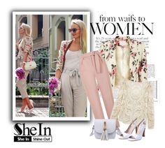 """SheIn 9/I"" by hedija-okanovic ❤ liked on Polyvore featuring Jacques Vert, Topshop and shein"