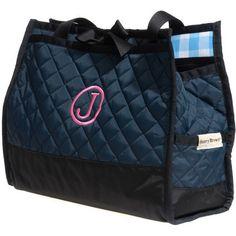 Slam Glam - Henry Brown Navy Maggie Tennis Tote Bag, $133.00 (http://www.slamglam.com/henry-brown-navy-maggie-tennis-tote-bag/)