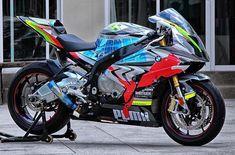 BMW S100RR Super Bikes, Custom Sport Bikes, Motor Engine, Bmw S1000rr, Moto Bike, Toys For Boys, Boy Toys, Street Bikes, Sportbikes