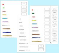 math worksheet : 1000 images about pre k k on pinterest  montessori sight words  : Montessori Math Worksheets