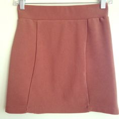 H&M copper colored bodycon skirt Flattering copper ribbed bodycon skirt H&M Skirts