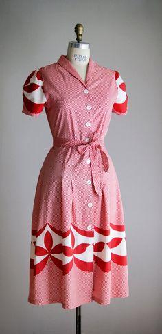1930's Day Dress